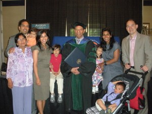 Family Picture at Dad's convocation May 2012